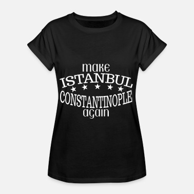Istanbul Turquie Istanbul Constantinople - T-shirt oversize Femme