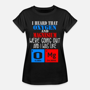 Reaction Chemistry reactions - Women's Oversize T-Shirt