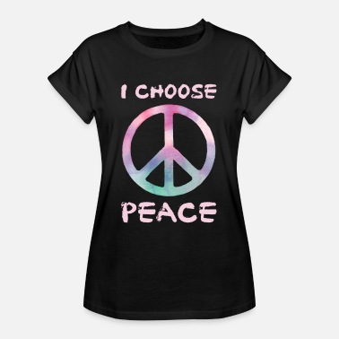 Peace Not War Peace war - Women's Oversize T-Shirt