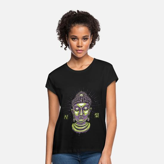 Zen T-Shirts - Buddha Zen - Women's Loose Fit T-Shirt black