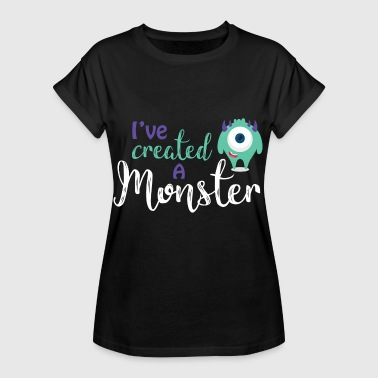 Parents - enfants - Partnerlook - parents Monster - T-shirt oversize Femme