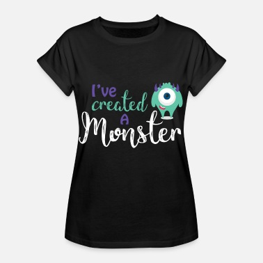 Parent Parents - child - Partnerlook - Monster parents - Women's Oversize T-Shirt