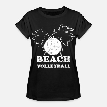 Beach Volleyball Beach volleyball volleyball sport gave - Oversize T-skjorte for kvinner