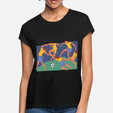 Artfetish Fussball - Frauen Oversize T-Shirt
