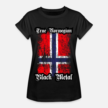 True Metal Trve / True Norwegian Black Metal - Vrouwen oversize T-shirt