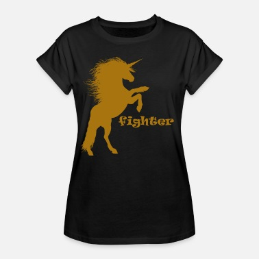 Fighting Fantasy Fighting Unicorn - Women's Oversize T-Shirt