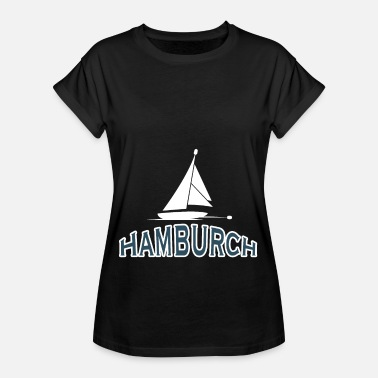 Anker Haven van Hamburg Hamburch - Vrouwen oversize T-shirt