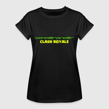 Grease fingers Clash Royale - Women's Oversize T-Shirt