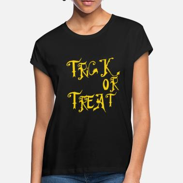 Trick Or Treat Halloween Trick or Treat - Frauen Oversize T-Shirt