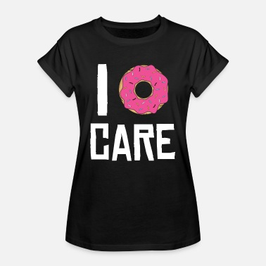 Statement Gym Donut Gym Statement Funny pun gift - Women's Oversize T-Shirt