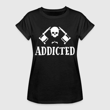 Tattoo addicted  - Women's Oversize T-Shirt