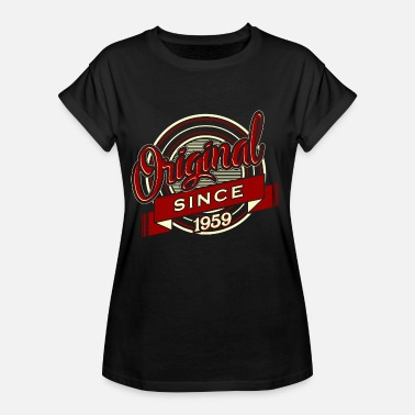 Birthday 1959 Birthday Shirt · Birthday · Original 1959 - Women's Oversize T-Shirt