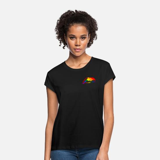 Gay Pride T-Shirts - Dolphins are gay sharks! - Women's Loose Fit T-Shirt black