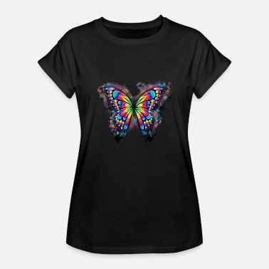 Charnu Animal abstrait brillant - T-shirt oversize Femme