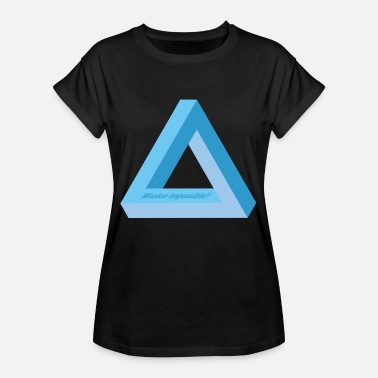 Mission Impossible Mission Impossible (édition Triangle Bleu) - T-shirt oversize Femme