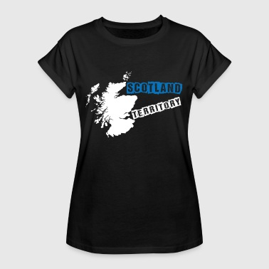 Edinburgh Lochness Scotland - Women's Oversize T-Shirt