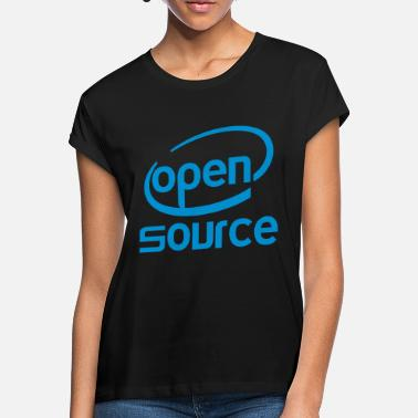 Open Open source Intel - T-shirt oversize Femme