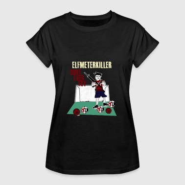Penalty Kick Penalty killer - Women's Oversize T-Shirt