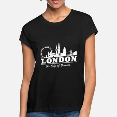 Uk UK - Frauen Oversize T-Shirt