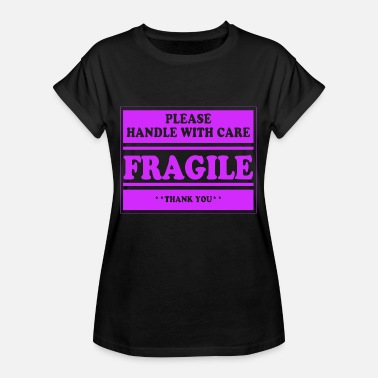 Chagrin D'amour fragile, amour, chagrin d'amour - T-shirt oversize Femme