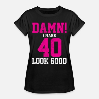 Womens Loose Fit T Shirt