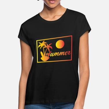 Caribbean Summer under palm trees | Sun holiday Caribbean - Women's Loose Fit T-Shirt