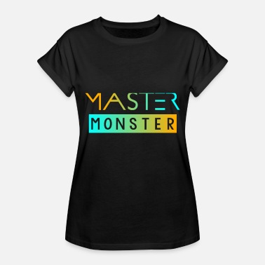 Monster Ag Master MONSTER - Frauen Oversize T-Shirt