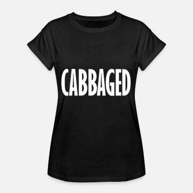 Cabbage Funny cabbaged - Women's Oversize T-Shirt