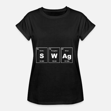 Swag chemistry elements Cool - Women's Oversize T-Shirt