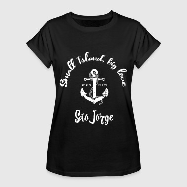 Jorge Small Island, big love Sao Jorge Azores Portugal - Women's Oversize T-Shirt