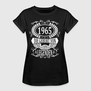 Born Year born 1965 born year of birth year of construction - Women's Oversize T-Shirt
