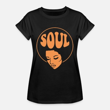 Soul Music Soul Musik Black Music Jazz - Frauen Oversize T-Shirt