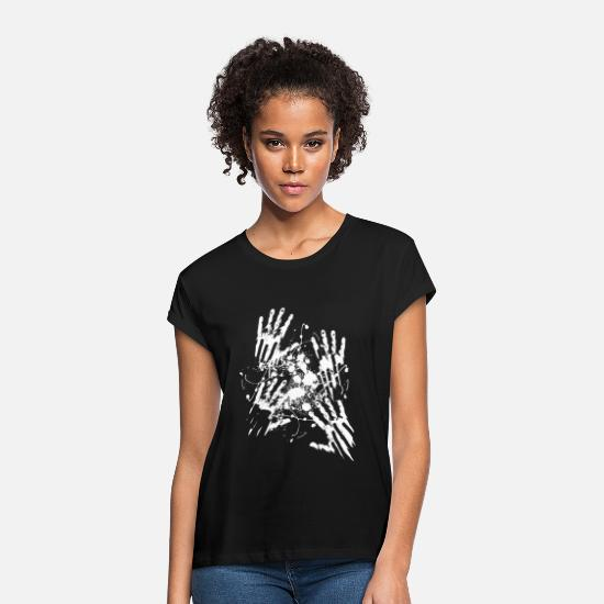 Survival T-Shirts - Attacked by zombies - Women's Loose Fit T-Shirt black