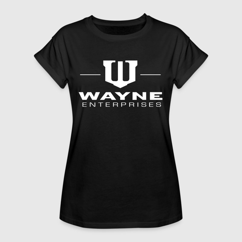 Batman Wayne Enterprises - Frauen Oversize T-Shirt