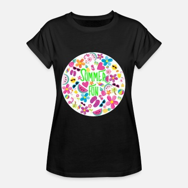 Fun Summer Summer Fun - Women's Oversize T-Shirt