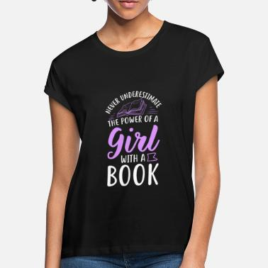 Reading Reading bookworm book book lover - Women's Loose Fit T-Shirt