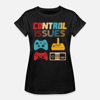 Retro Game Characters Retro Gaming - Women's Oversize T-Shirt