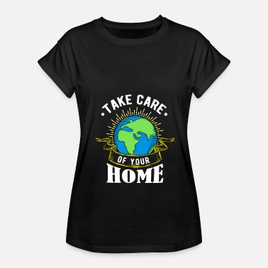 Ecologie Save the Earth - Save the World - Save the Earth - Vrouwen oversize T-shirt