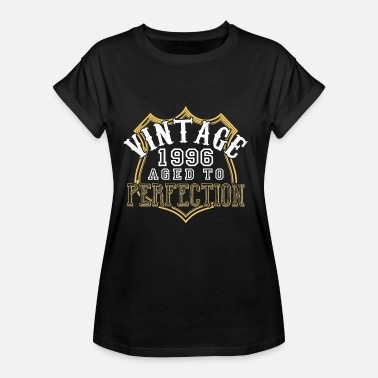Perfection Vintage 1996 âgé de perfection - T-shirt oversize Femme