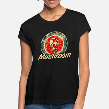 Magic Mushrooms Mushroom Mushrooms Magic Mushrooms - Women's Loose Fit T-Shirt