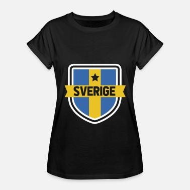 Sweden Sweden flag - Women's Oversize T-Shirt