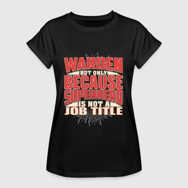 Warden Superhero - Women's Oversize T-Shirt