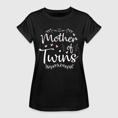 Parents Mother Of Twins - twin mom - Women's Oversize T-Shirt
