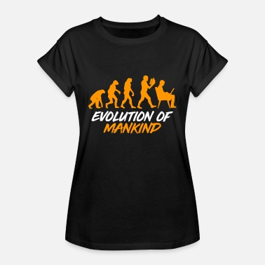 Reproduction Evolution Mankind - Women's Oversize T-Shirt