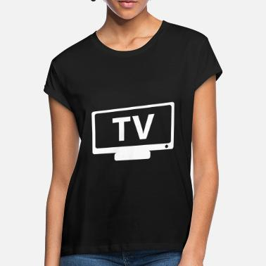 Tv TV TV - Vrouwen oversized T-Shirt