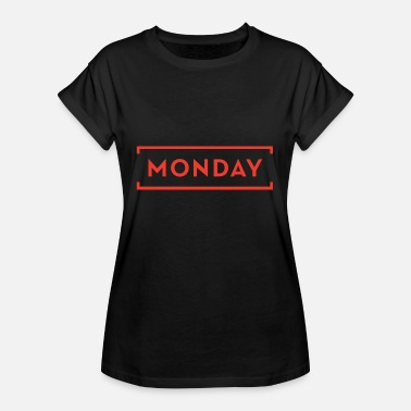 Monday Day Of The Week Manic Monday - The Week Day Collection - Women's Oversize T-Shirt