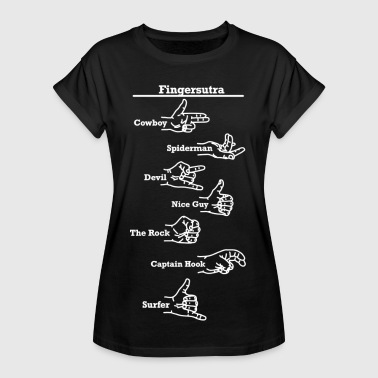 Sexual Fingersutra sex foreplay intercourse - Women's Oversize T-Shirt
