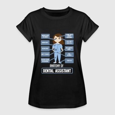 Dental Dental Assistant säger dental assistent present - Oversize-T-shirt dam