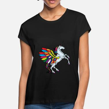 Fable flying unicorn fable - Women's Loose Fit T-Shirt