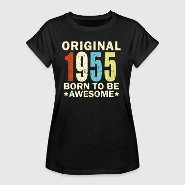 1955 - Birthday Bday Present - Frauen Oversize T-Shirt